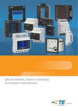Capability Brochure - Crompton Instruments