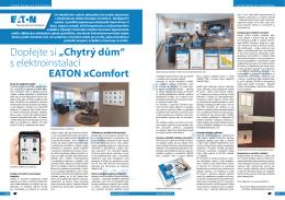 """Dopřejte si """"Chytrý dům"""" s elektroinstalací EATON xComfort"""
