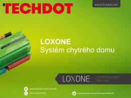 Petr Homolka - TECHDOT-LOXONE.key