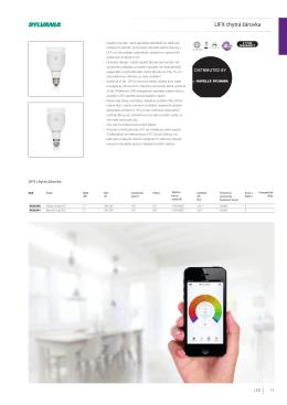 LIFX chytrá žárovka