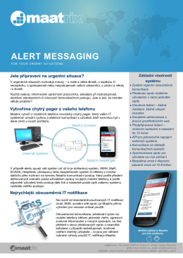 ALERT MESSAGING