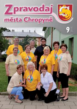 Číslo 9-2015 - Město Chropyně