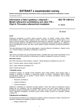 extrakt ISO TR 14813-4