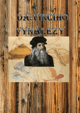 Brožura PDF - Leonardo da Vinci