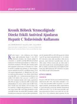 Makale PDF - Güncel Gastroenteroloji