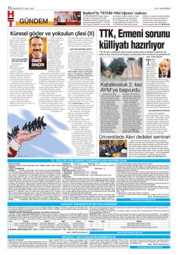 TTK, Ermeni sorunu külliyatı hazırlıyor