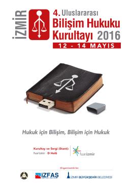 kurultay broşürü - Uluslararası Bilişim Hukuku Kurultayı