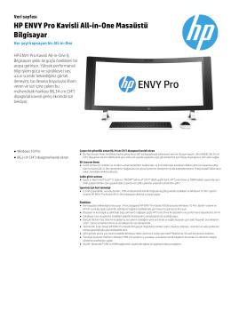 HP ENVY Pro Kavisli All-in