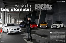 Bir Kadın Beş Otomobil