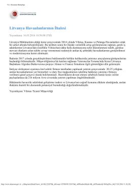 TC Ekonomi Bakanlığı - İhale Özelleştirme Yatırım