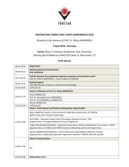 Draft Agenda is available here
