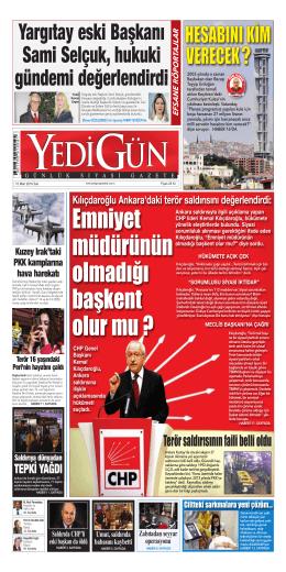 Yargıtay eski Başkanı Sami Selçuk, hukuki