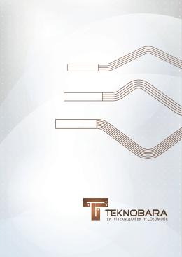 e-katalog - Teknobara Elektrik, Elektronik, Makina Sanayi ve Ticaret