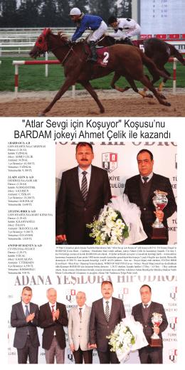 """""""Atlar Sevgi için Koşuyor"""" Koşusu`nu BARDAM"""