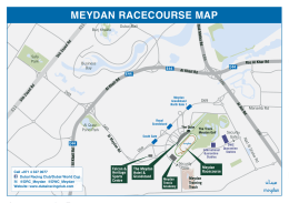 Map for Media - Dubai Racing Club