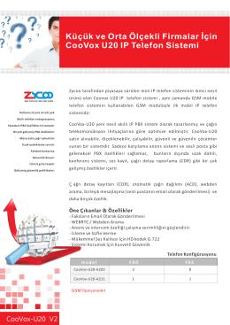 CooVox-U20 V2_Datasheet(TR).cdr