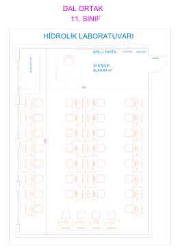 34 KİŞİLİK ALAN 84 m² AKILLI TAHTA
