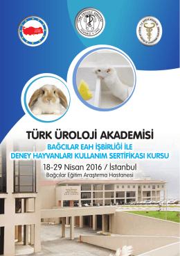TÜAK Deneysel Hayvanları Kullanım Sertifikası Kursu