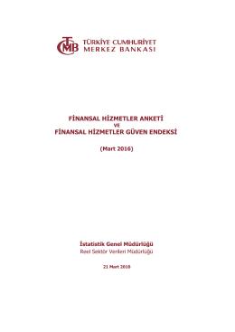 finansal hizmetler anketi finansal hizmetler güven