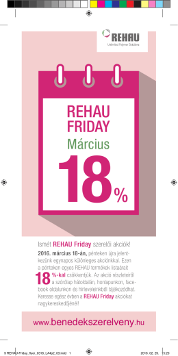 Rehau Friday