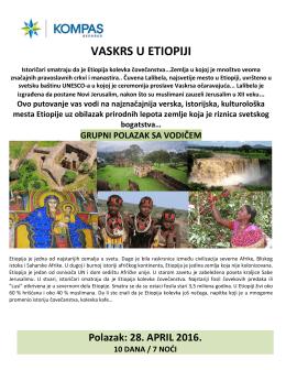 vaskrs u etiopiji