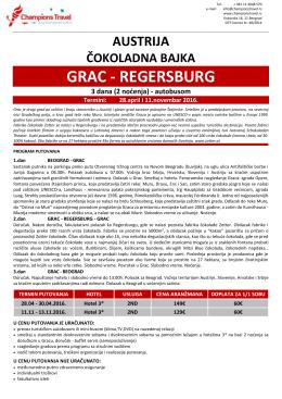 GRAC - REGERSBU GRAC - REGERSBURG REGERSBURG