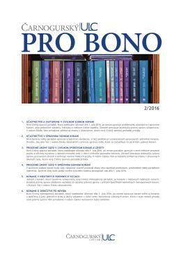 PRO BONO ULC 02 2016