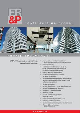 inštalácie na úrovni - pdf