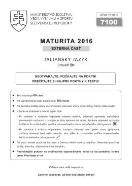 maturita 2016 - Zmaturuj.sk