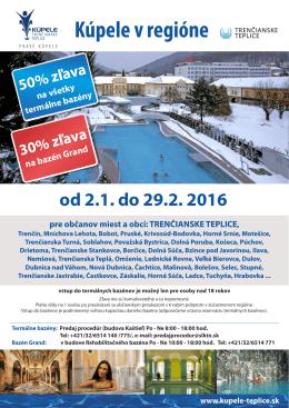 akcie Kúpele v regióne - Kúpele Trenčianske Teplice