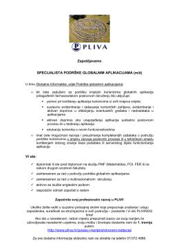 Pliva - PMF