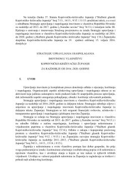Službeni glasnik Koprivničko–križevačke županije s