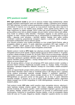 EPC poslovni modeli