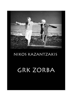 nikos kazantzakis grk zorba