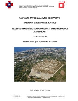 Karepovac - Nastavni zavod za javno zdravstvo Splitsko