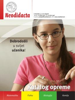 Katalog opreme Neodidacta
