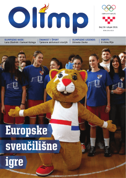 VIJESTI - Hrvatski olimpijski odbor