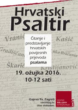 CBI Hrvatski Psaltir