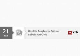 Sabah Analizi - 21 Mart 2016