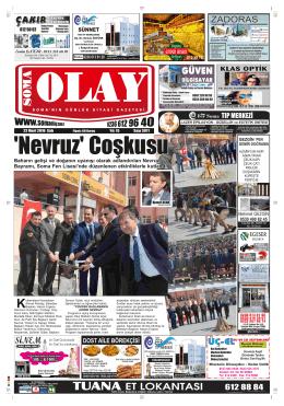 22032016 (3911) Salı - Soma Olay Gazetesi
