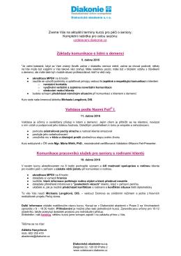 Stáhnout přehled kurzů v pdf