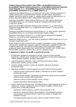 ve formátu  - ArcelorMittal Ostrava as