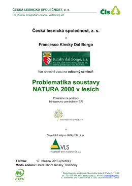 Program - Česká lesnická společnost