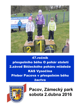 Pacov, Zámecký park sobota 2.dubna 2016