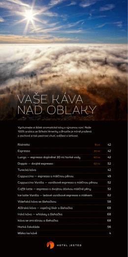 Zobrazit menu v PDF