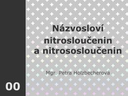 nitrosloučenin