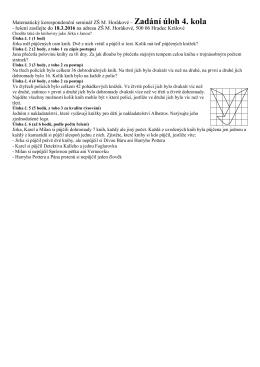 Matematický korespondenční seminář ZŠ M