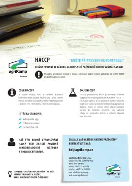 haccp - agriKomp