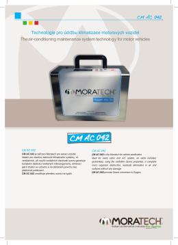 CMAC 042 - technologie pro údržbu autoklimatizací
