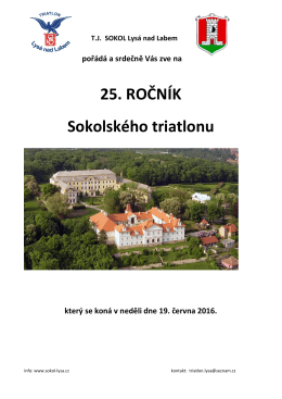 Rozpis - TJ Sokol Lysá nad Labem